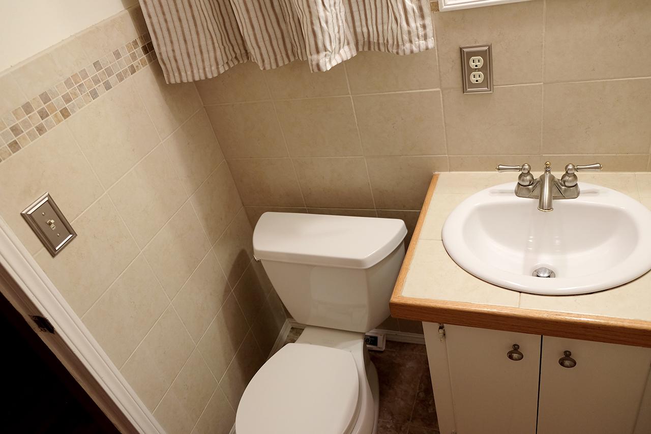 West bathroom powder room  - 102 South Kings Rent House